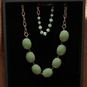 Premier Designs Mint Necklace